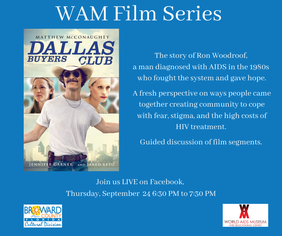 WAM Film Discussion: Dallas Buyers Club