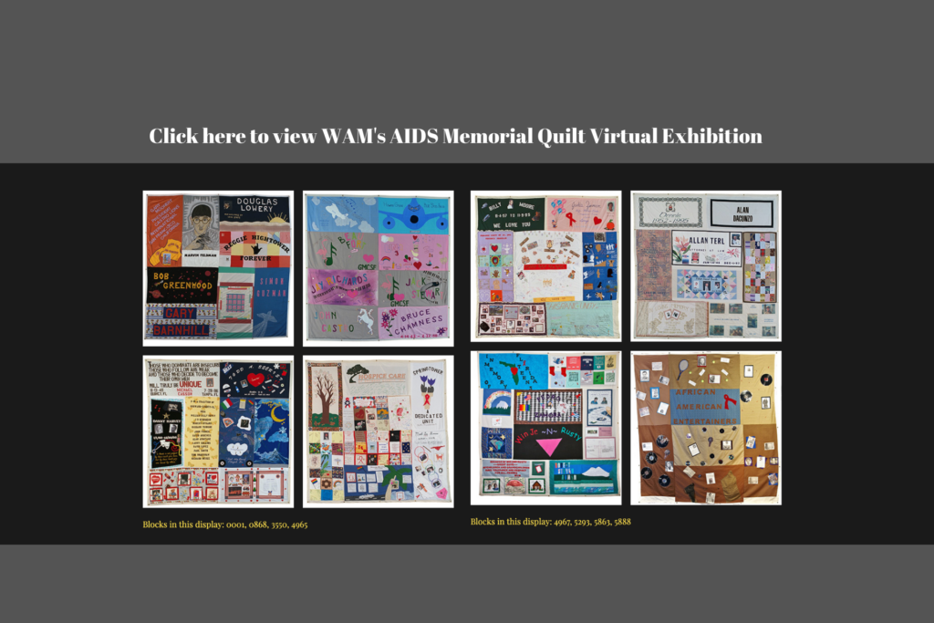 WAM's AIDS Memorial Quilt Virtual Display