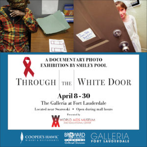 THROUGH THE WHITE DOOR Exhibits runs APRIL 8 – 30