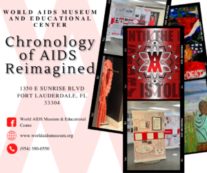 Chronology of AIDS Reimagined Exhibit